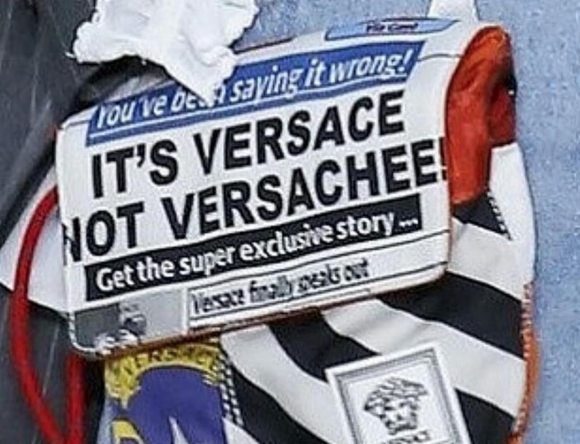 VERSACE NOT VERSACHEE bag