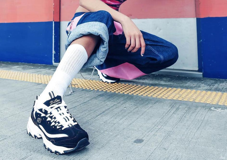 Skecher's D'lites sneakers