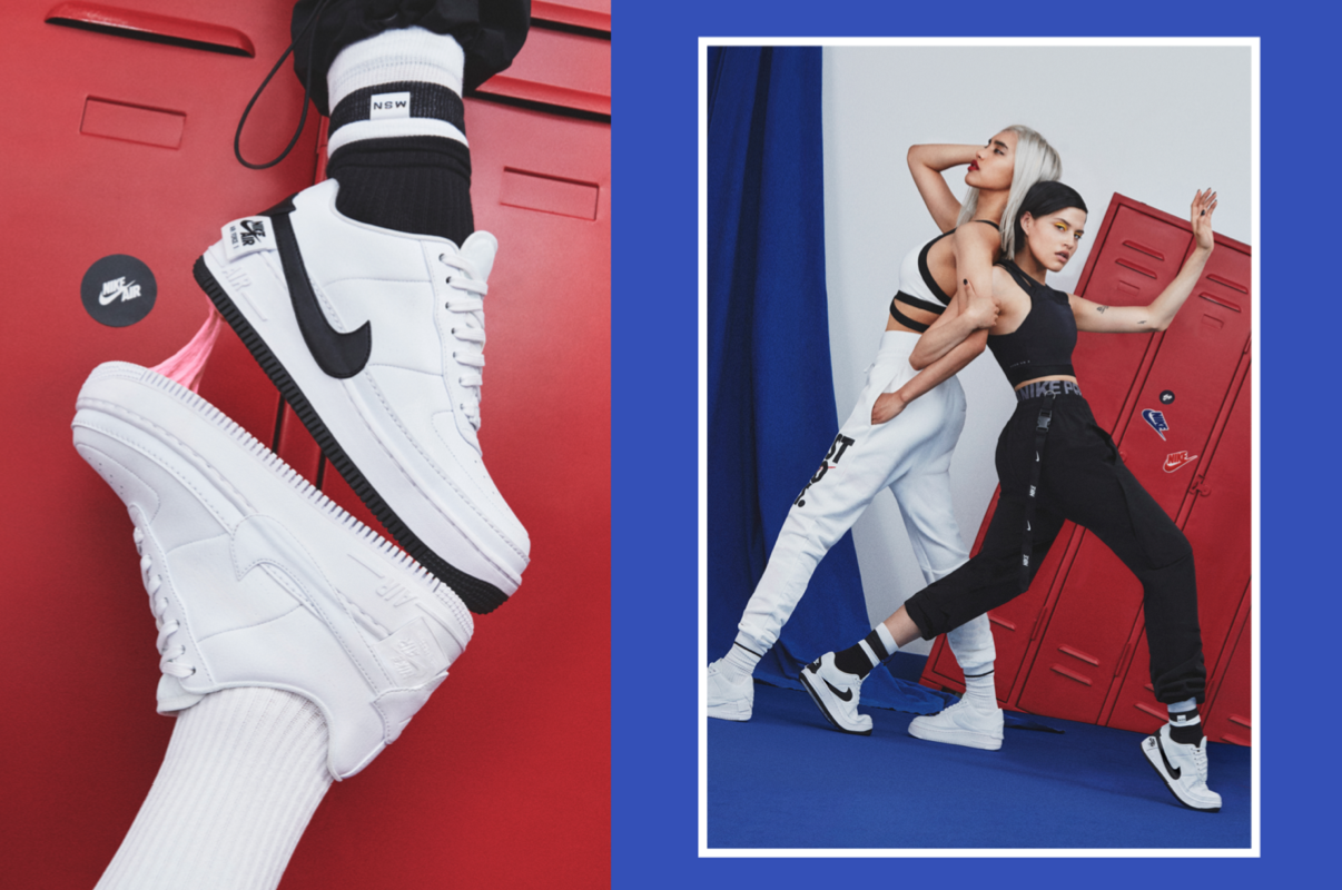 Nike Air Force sneakers - Claire Kang